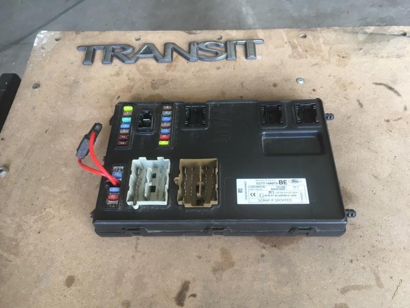Блок предохранителей Ford Transit ОБЫЧНЫЙ ГРУЗОВОЙ ФУРГОН 2.2L CR TC I4 DSL 155PS 2012 (б/у)