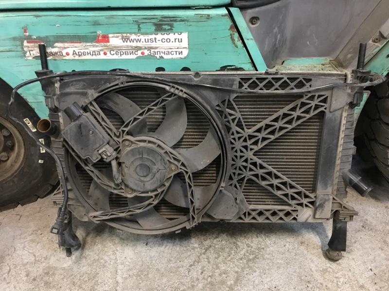 Касета радиаторов Ford Transit TT9 2.2L DURATORQ-TDCI (110PS) 2006/2014 (б/у)
