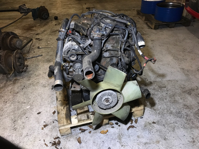 Двигатель Daf Lf 45 BE 2005 (б/у)