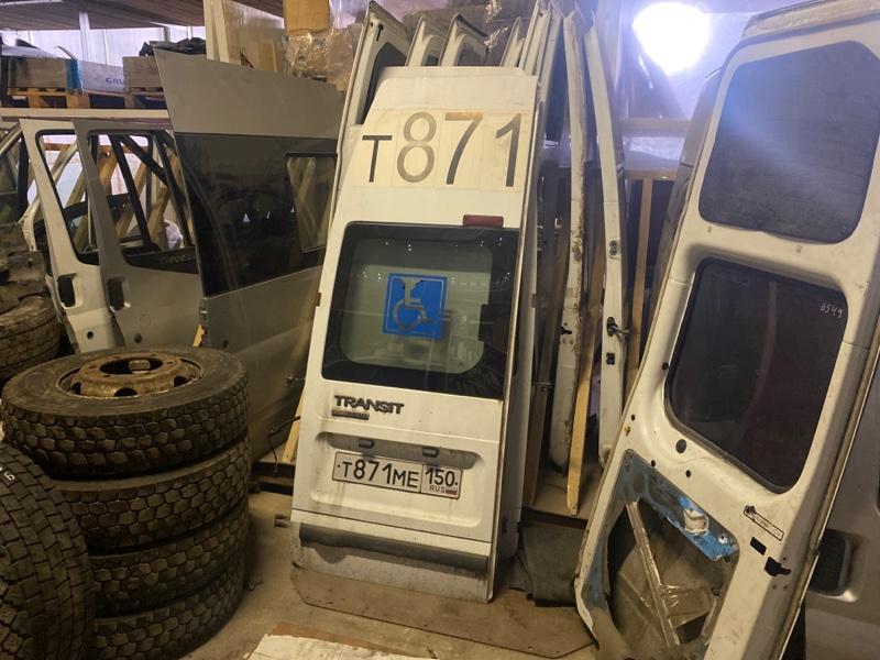 Дверь Ford Transit 2000/2014 задняя правая (б/у)