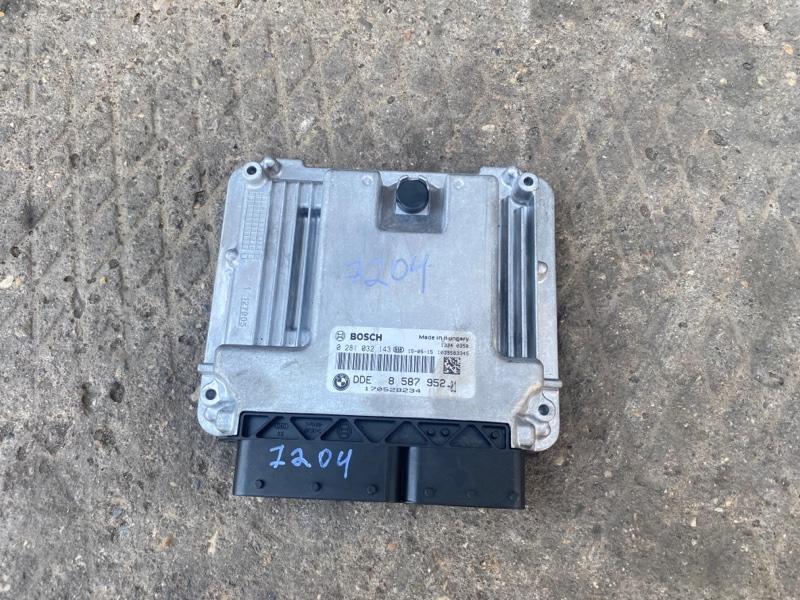 Блок управления двигателем Bmw 520D F10N ДИЗЕЛЬ 2015 (б/у)