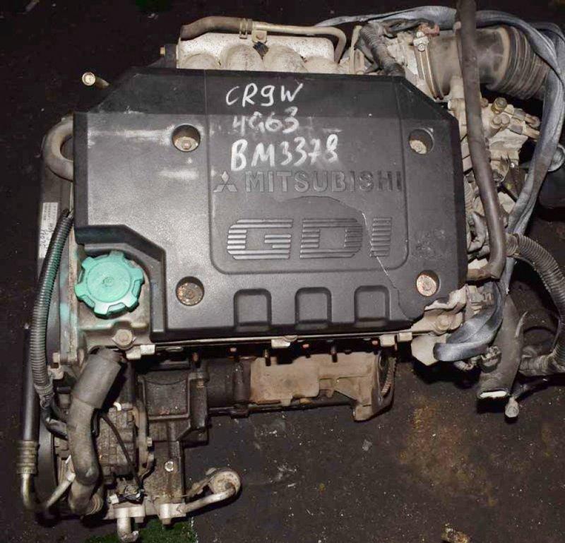 Двигатель Mitsubishi Dion 4G63 2001 (б/у)