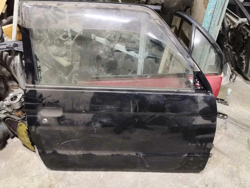 Дверь Mitsubishi Pajero H56A передняя правая (б/у)