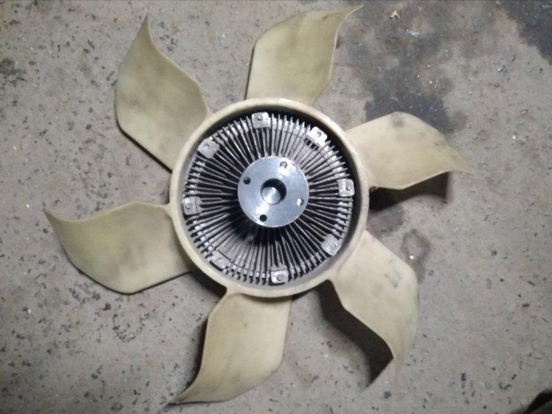 Вискомуфта с крыльчаткой вентилятора Mitsubishi L 200 (б/у)