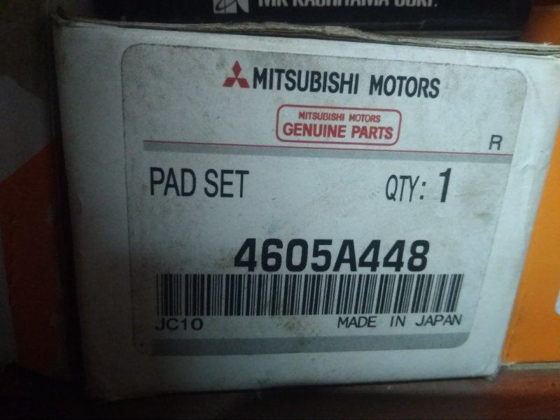 Колодки тормозные дисковые Mitsubishi Pajero 4
