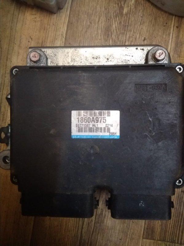 Блок управления двс Mitsubishi Lancer 10 (б/у)