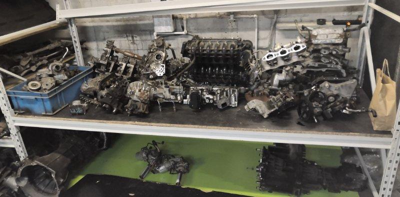 Двигатель Mitsubishi L 200 4D56U 2007 (б/у)