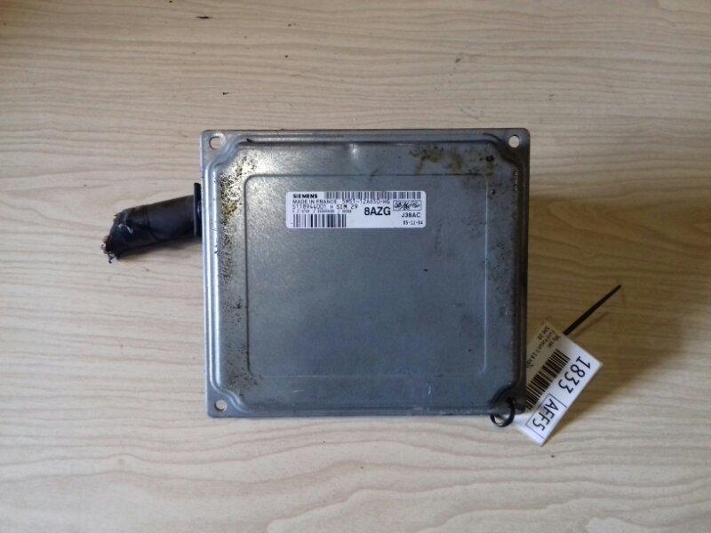 Электронный блок управления двигателем (эбу двс) Ford Focus 2 CB4 1.6 I 115 Л.С. 2006