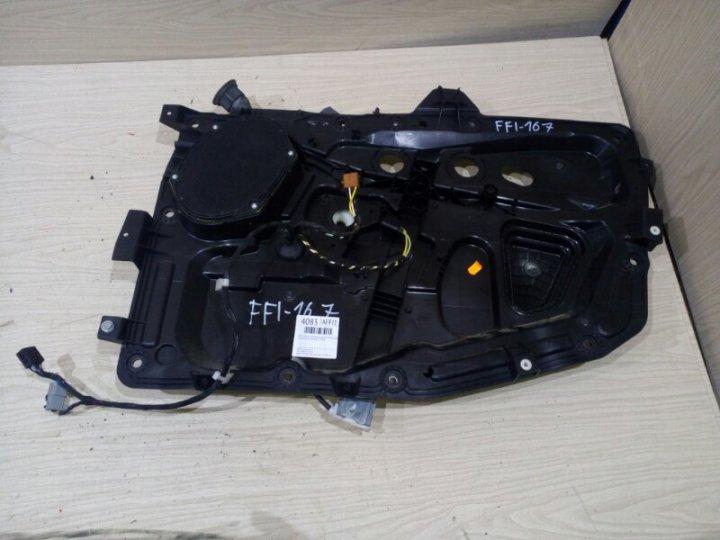 Щит стеклоподъёмника Ford Fiesta CBK 1.4 I 2006 передний правый