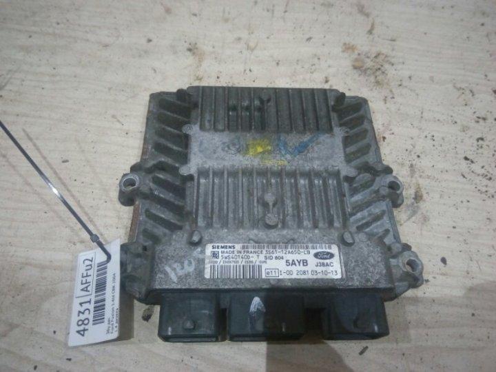 Электронный блок управления двигателем (эбу двс) Ford Fusion CBK 1.4 TD 2004