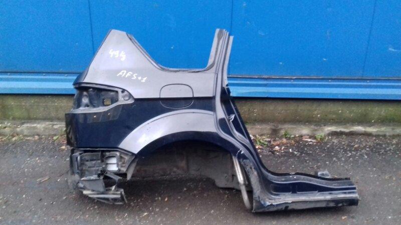 Четверть Ford S-Max CA1 2.0 TI ECOBOOST 2011 задний правый