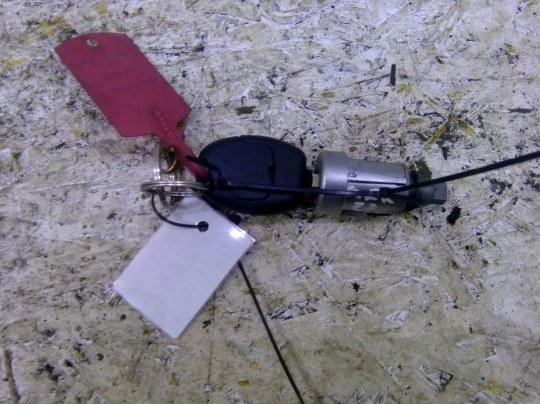 Личинка замка зажигания + ключ Ford Focus 2 CB4 1.6 I 2006
