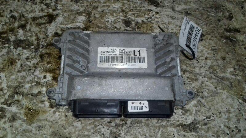 Эбу двс Chevrolet Aveo T250 1.2 I 2010 96983