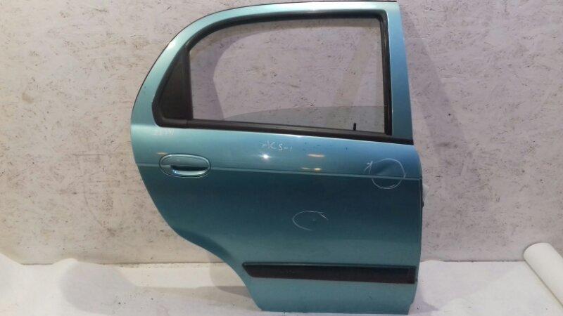 Дверь Chevrolet Spark M200 1.0 I 2006 задняя правая