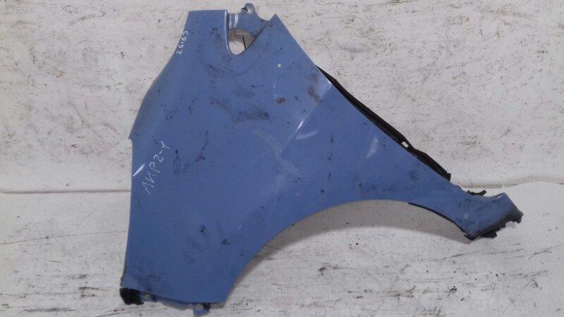 Крыло Kia Picanto TA 1.0 I G3LA 2012 переднее левое