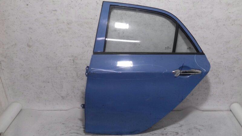 Дверь Kia Picanto TA 1.0 I G3LA 2012 задняя левая