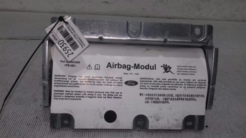 Подушка srs ( airbag ) пассажира Ford Mondeo 4 BE 2.5 I HUBA DURATEC-ST (220) - VI5 2007