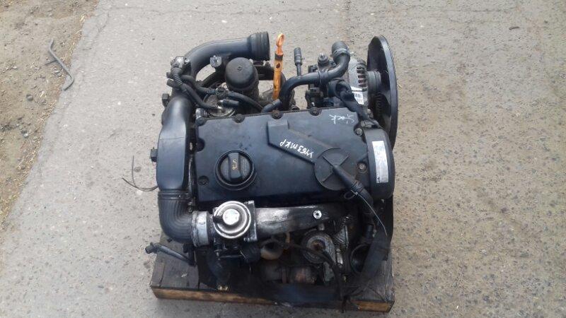 Двигатель Volkswagen Passat B5+ 1.9 TD AW