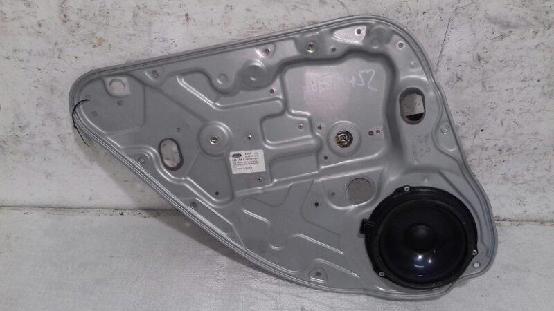 Щит стеклоподъёмника Ford Focus 2 CB4 1.6 I DURATEC 16V PFI (100PS) SIGMA 2010 задний левый