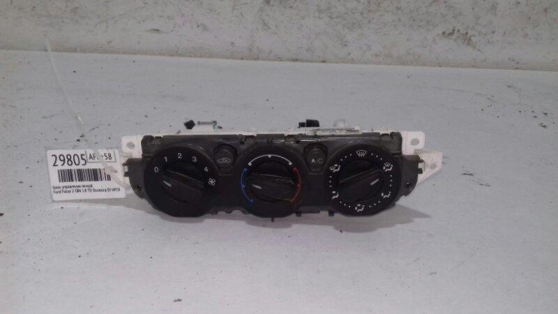 Блок управления печкой Ford Focus 2 CB4 1.8 TD DURATORQ-DI HPCR (115PS) LYNX 2008