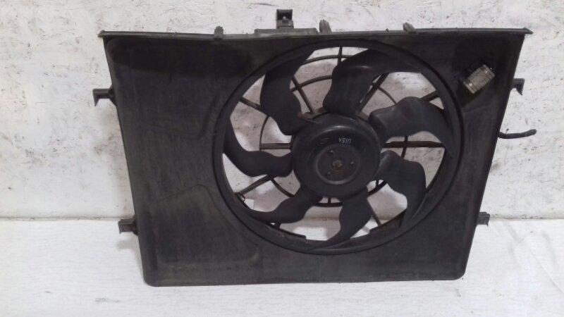Диффузор с вентилятором Hyundai I30 FD 1.4 I 2009