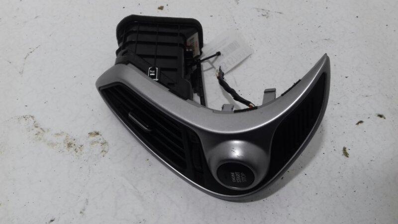 Воздуховод печки Hyundai Ix35 2.0 TD D4HA 2011 передний