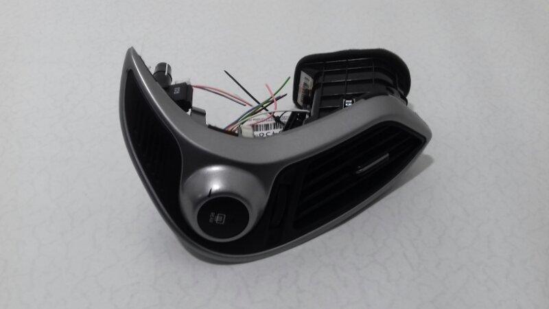 Дефлектор печки Hyundai Ix35 2.0 TD D4HA 2011 передний