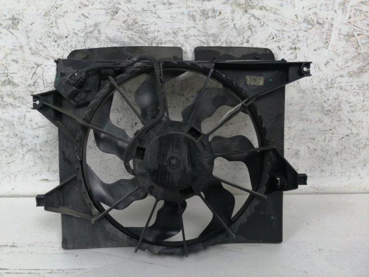 Диффузор с вентилятором Kia Venga 1.4 I G4FA 2010