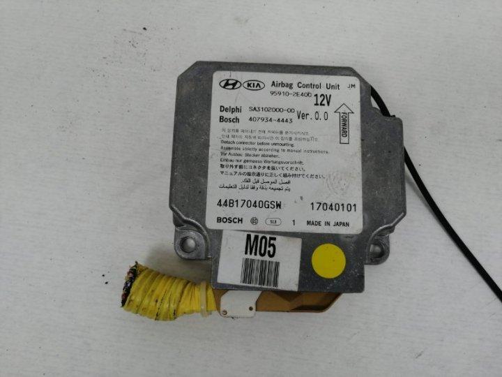 Блок srs Hyundai Tucson JM 2.7 I G6BA 2004