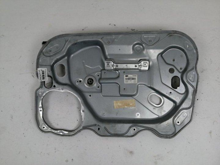 Щит стеклоподъёмника Ford Focus 2 CB4 1.6 I DURATEC 16V PFI (100PS) SIGMA 2009 передний правый