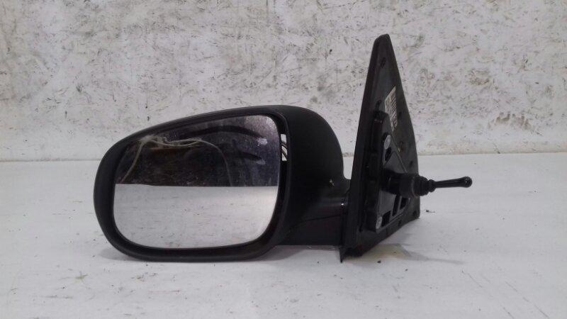 Зеркало механическое Kia Ceed 1.6 I 126 Л.С. G4FC 2009 левое
