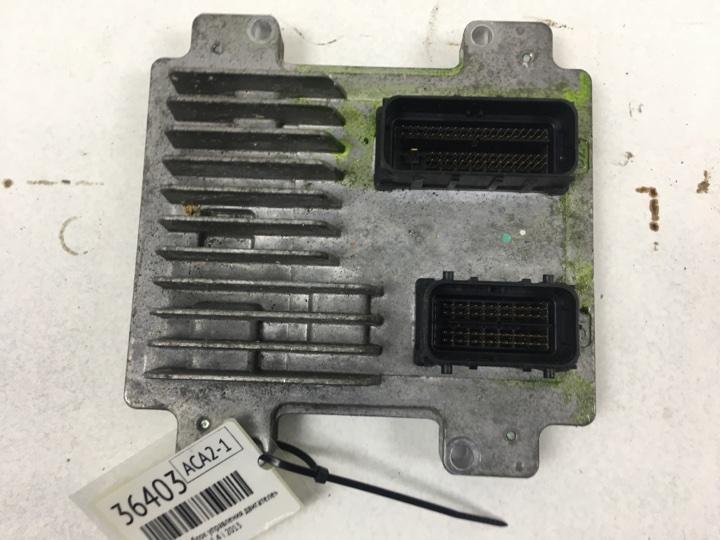 Электронный блок управления двигателем (эбу двс) Chevrolet Aveo 1.4 I 2013