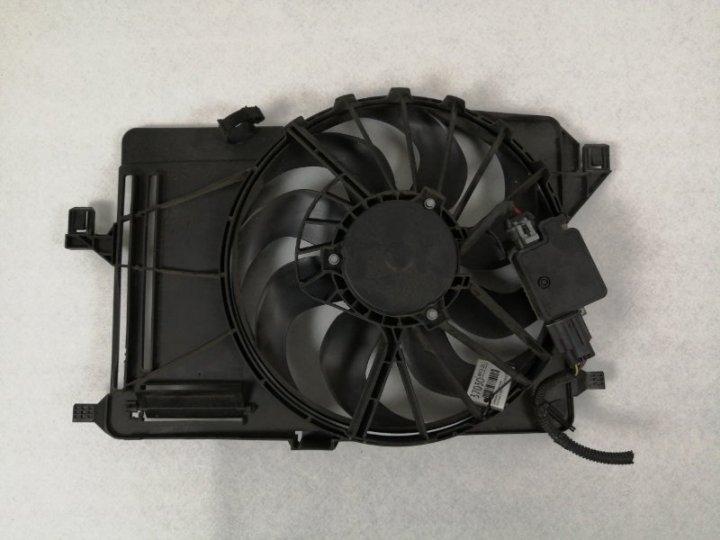 Диффузор с вентилятором Ford Focus 3 CB8 1.6 TD DURATORQ CR TC (115PS) - DV6 2012