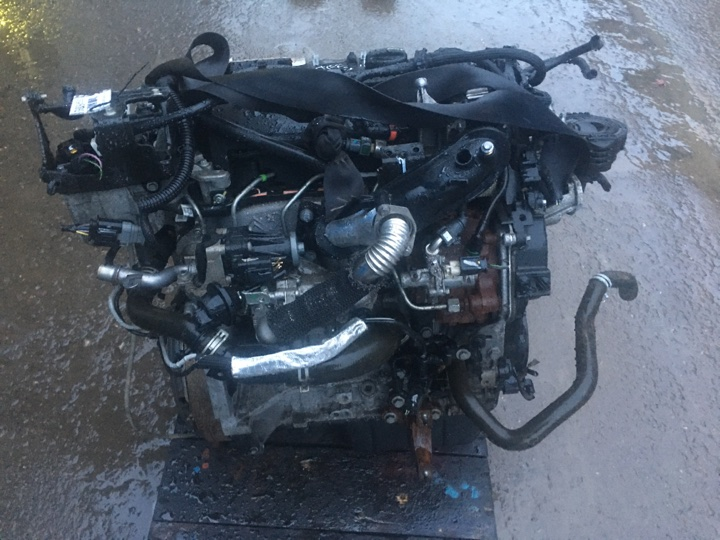Двигатель Ford Focus 3 CB8 1.6 TD T1DA 115 Л.С. 2014