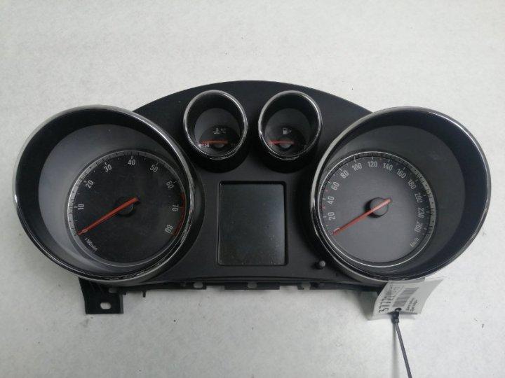 Щиток приборов Opel Insignia 0G-A 2 2010