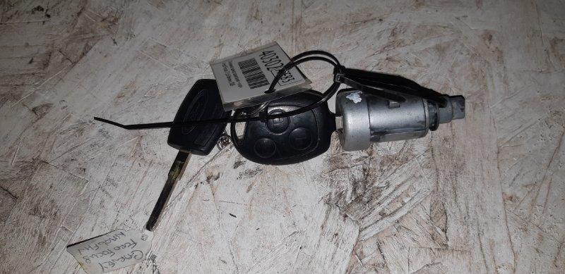 Личинка замка зажигания + ключ Ford Focus 2 1.6 БЕНЗИН 2006
