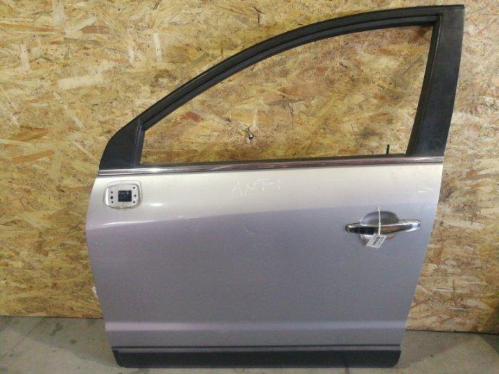 Дверь Opel Antara 2.0 TD Z20S 2008 передняя левая