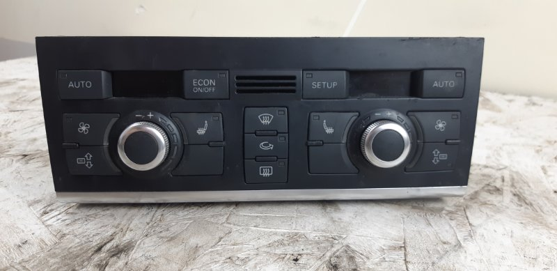 Блок управления климат контролем Audi Q7 3.0 TD 2007