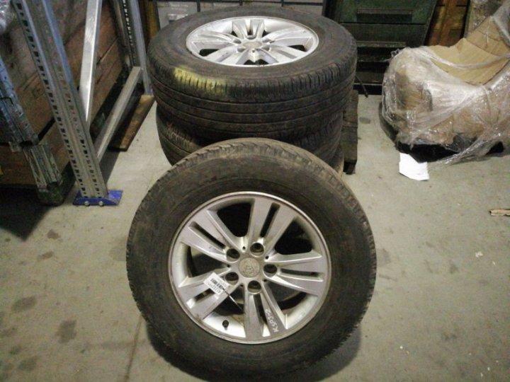 Колеса комплект 4шт Kia Sportage 1.7 ДИЗЕЛЬ 2011