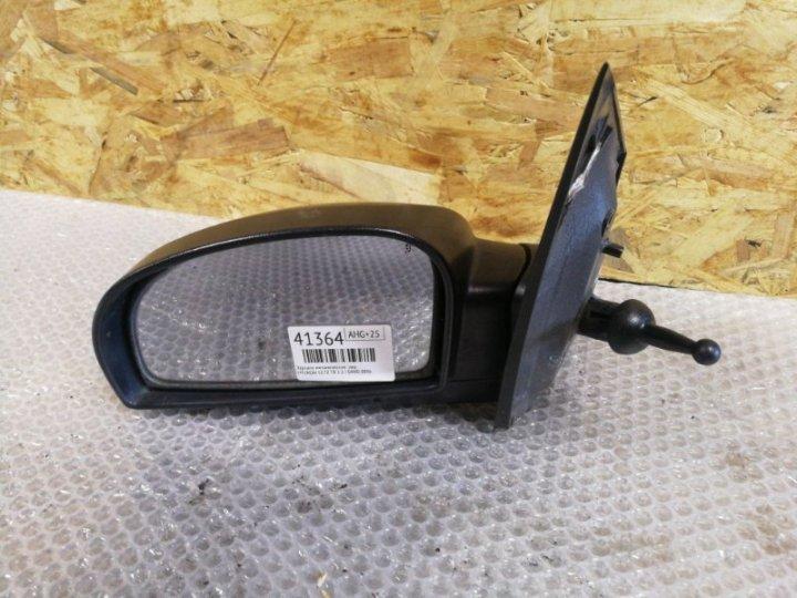 Зеркало механическое Hyundai Getz TB 1.1 I G4HG 2006 левое