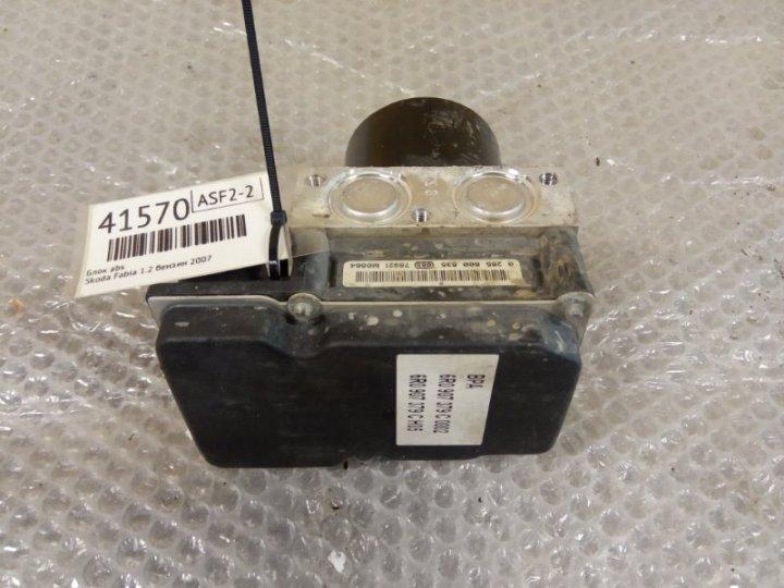 Блок abs Skoda Fabia 1.2 БЕНЗИН 2007