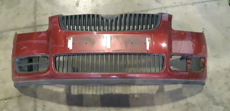 Бампер Skoda Fabia 1.2 БЕНЗИН 2007 передний