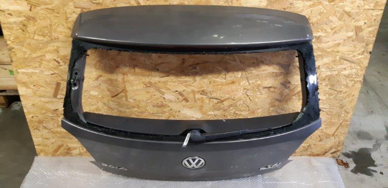 Крышка багажника Volkswagen Polo 1.2 БЕНЗИН 2014