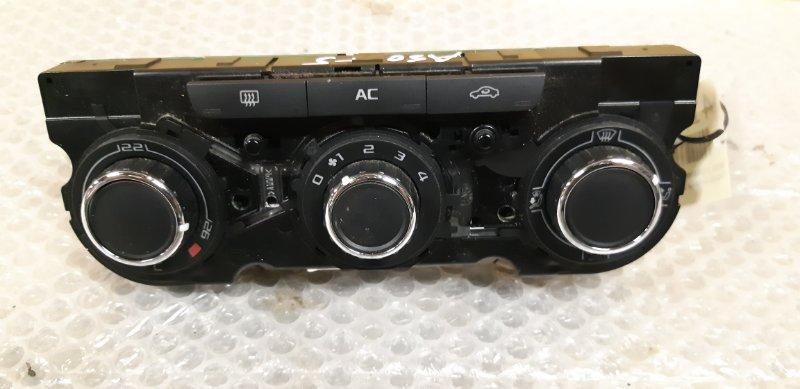 Блок управления печкой Skoda Octavia 1.4 БЕНЗИН 2010