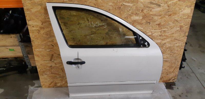 Дверь Skoda Octavia 1.4 БЕНЗИН 2010 передняя правая