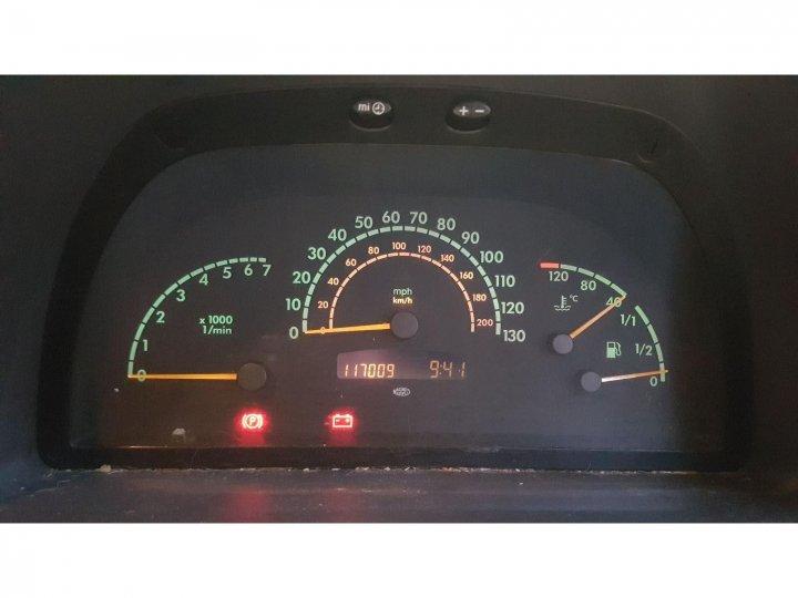 Машинокомплект Mercedes-Benz Vito ФУРГОН 2.2 ДИЗЕЛЬ 2003