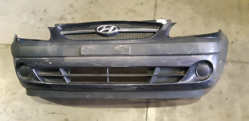 Бампер Hyundai Getz 1.1 I G4HG 2006 передний