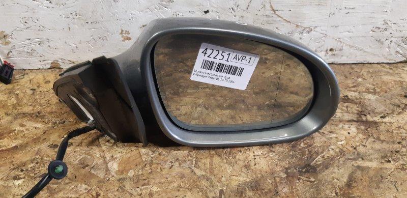 Зеркало электрическое Volkswagen Passat B6 2.0 TD 2006 правое