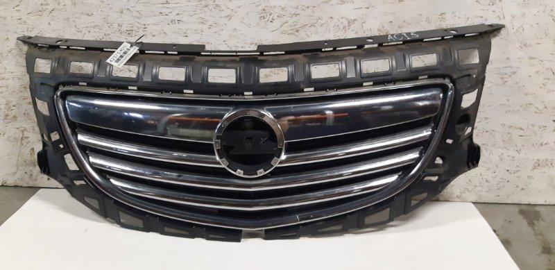 Решетка бампера Opel Insignia ХЭТЧБЕК 1.8 БЕНЗИН A18XER 2012 передняя правая