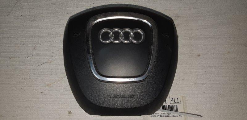 Подушка srs ( airbag ) в руль Audi A3 ХЭТЧБЕК 5 ДВЕРЕЙ 2.0 ДИЗЕЛЬ 2007